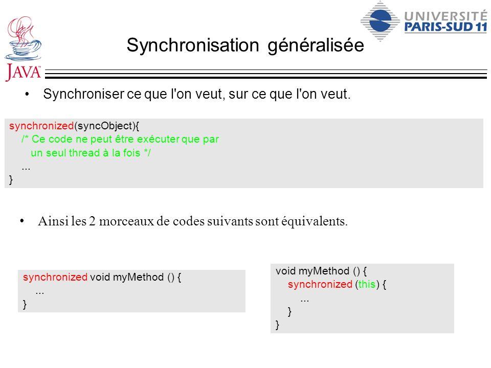 Synchronisation généralisée