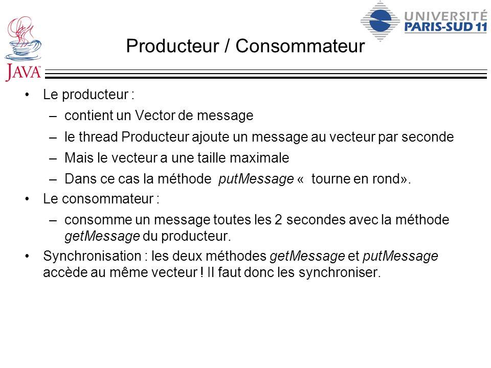 Producteur / Consommateur