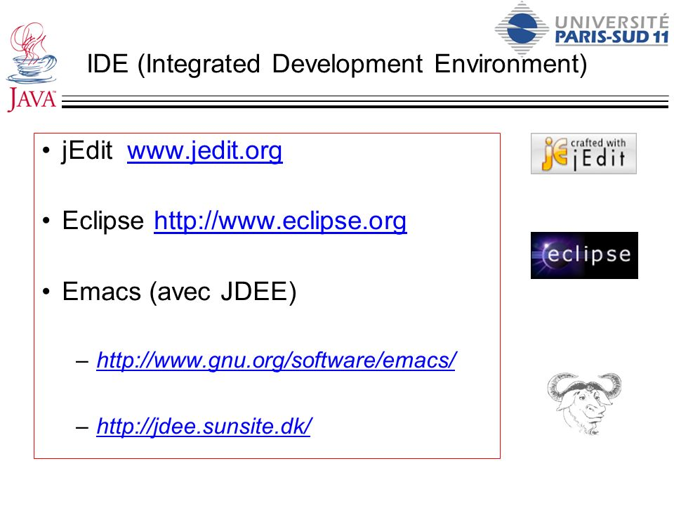 IDE (Integrated Development Environment)