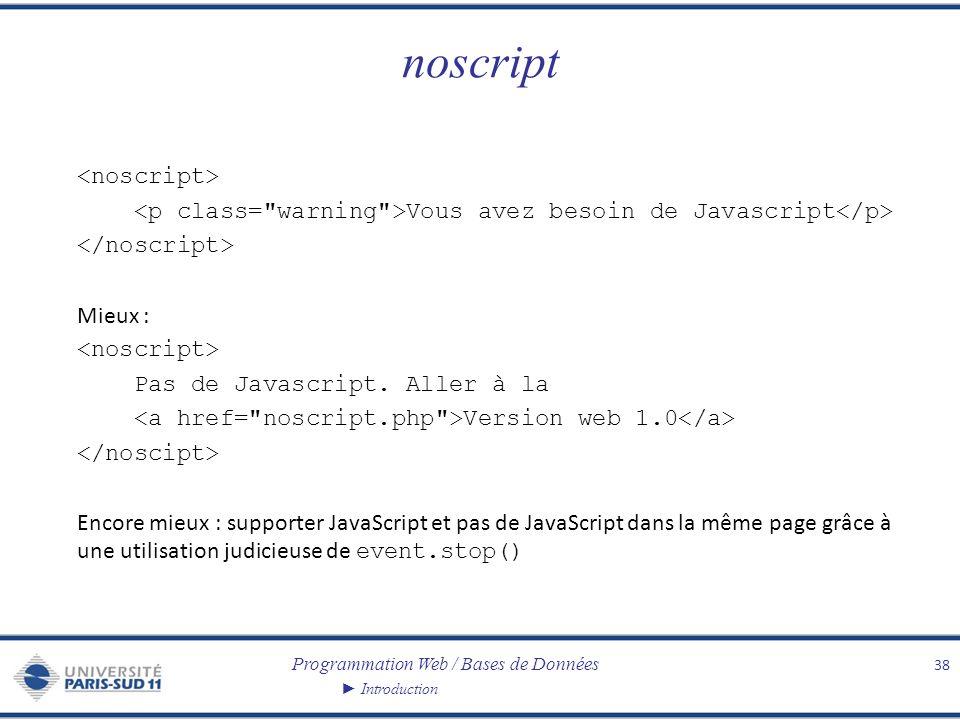 noscript <noscript>