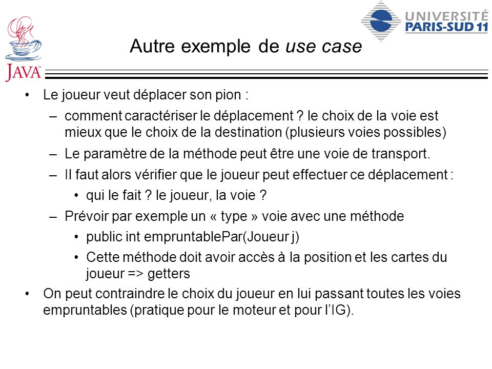 Autre exemple de use case