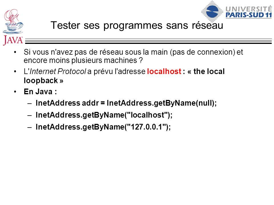 Tester ses programmes sans réseau