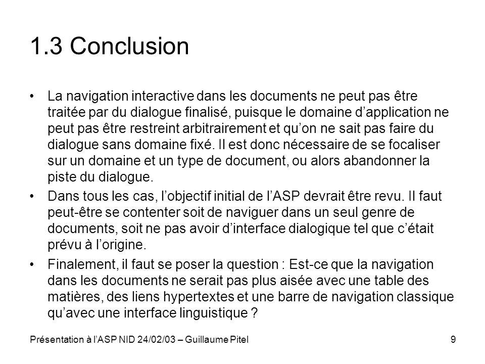1.3 Conclusion