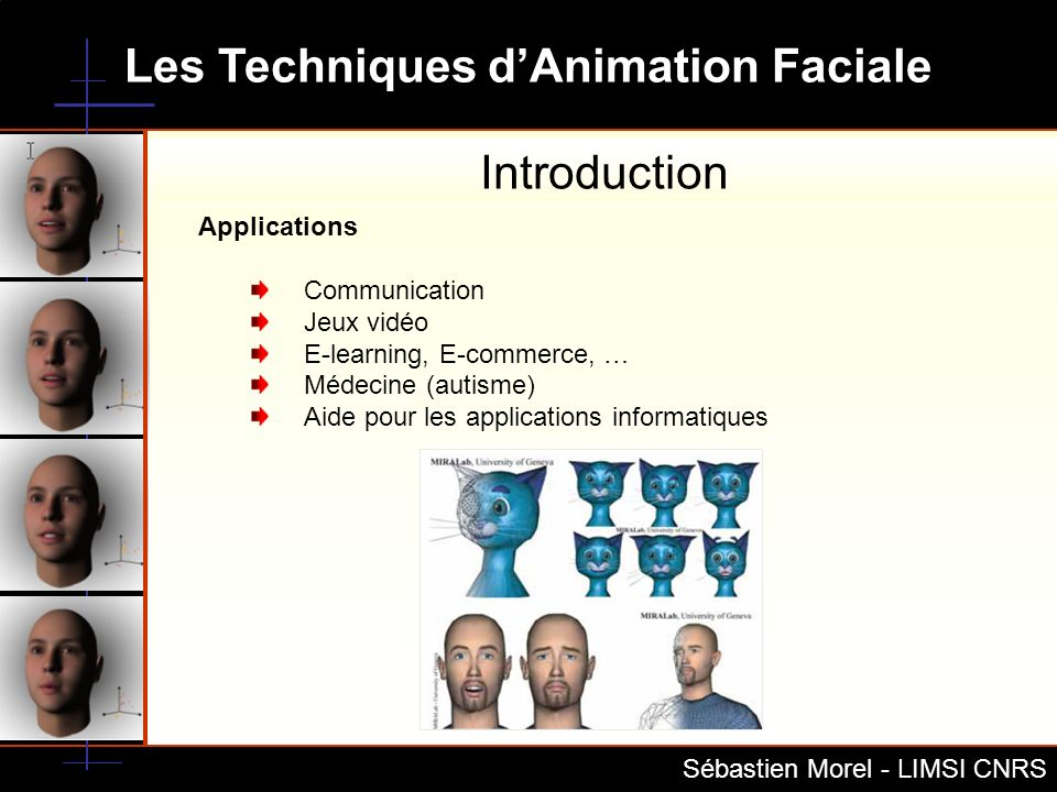 Introduction Applications Communication Jeux vidéo