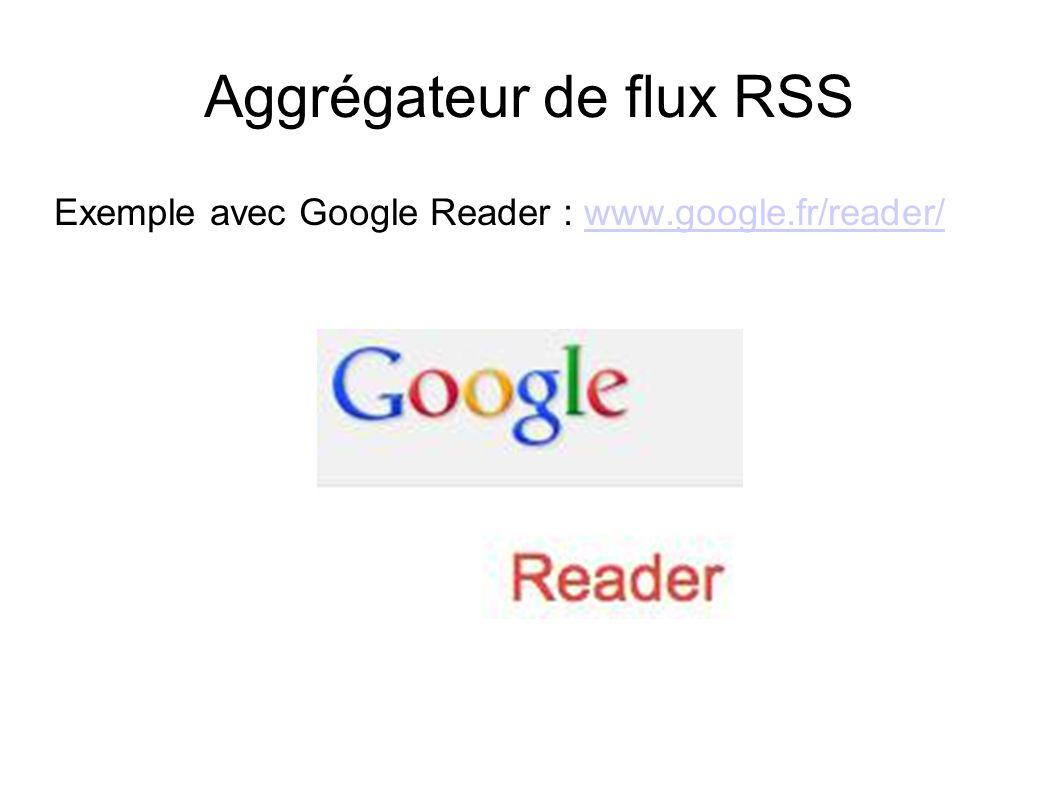 Aggrégateur de flux RSS