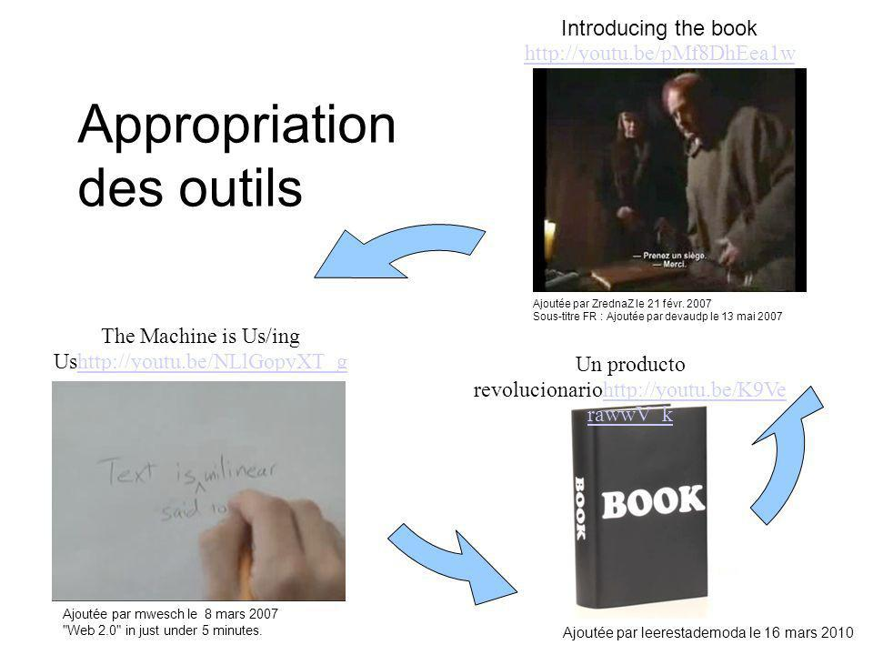 Appropriation des outils