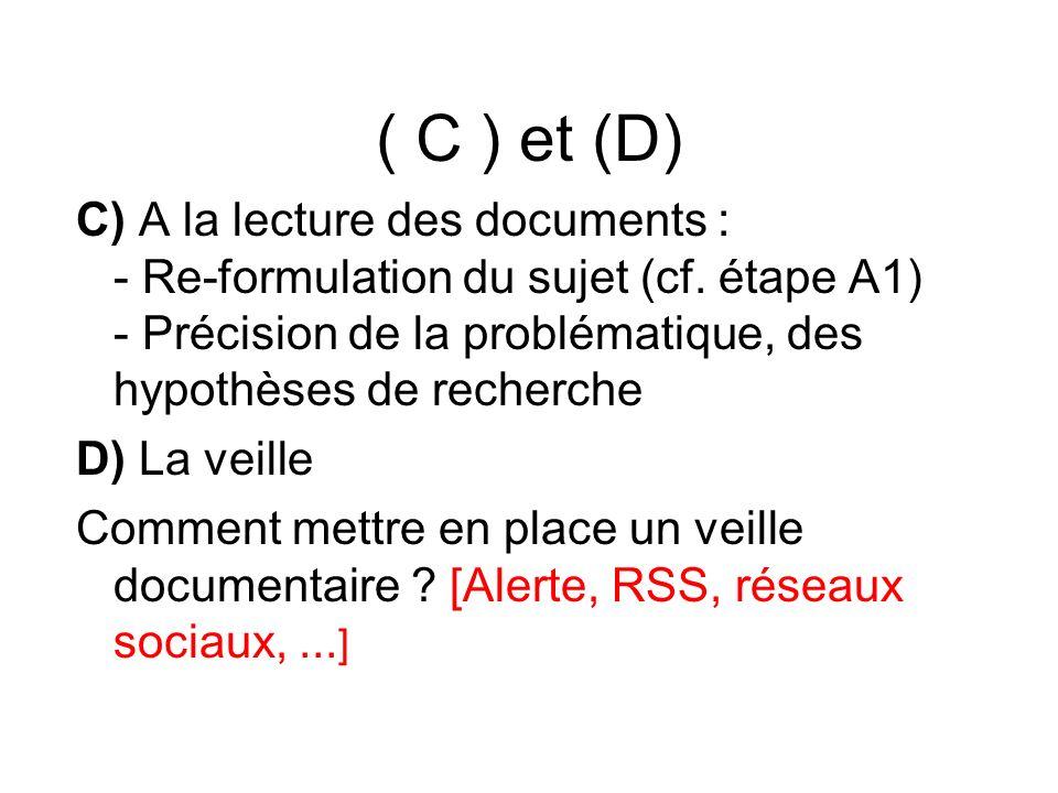( C ) et (D)