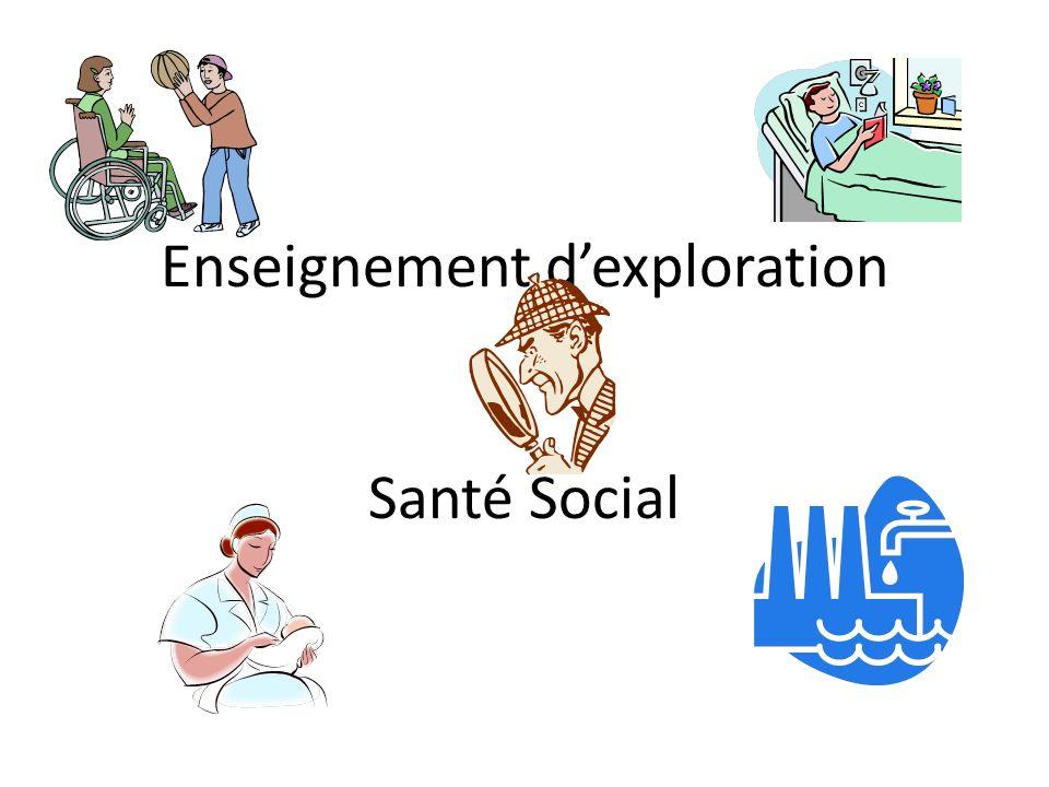 Enseignement d'exploration Santé Social