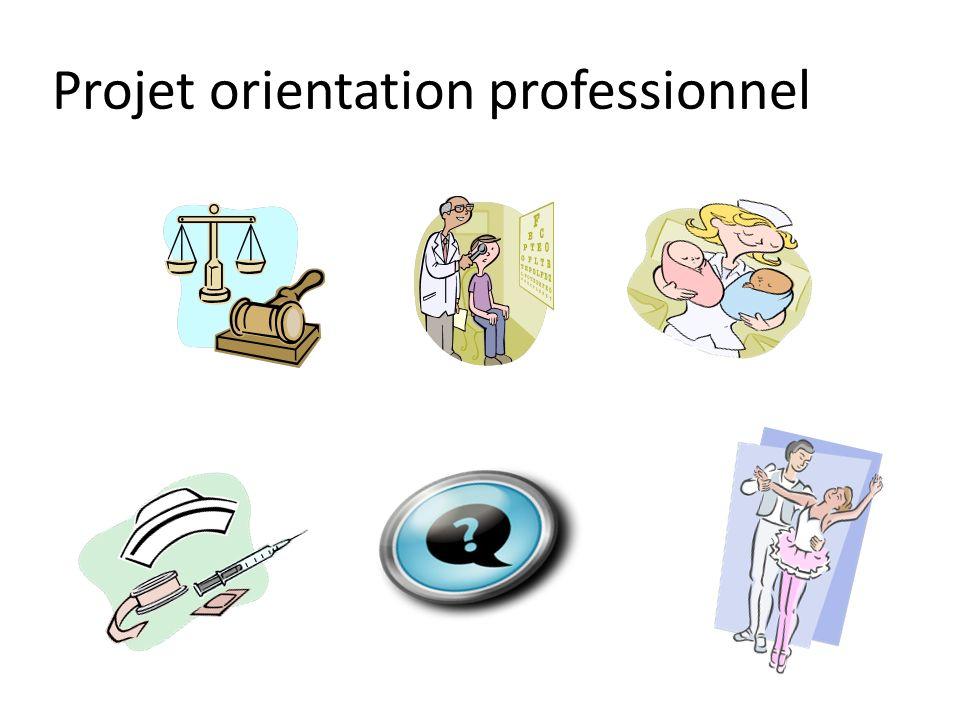 Projet orientation professionnel