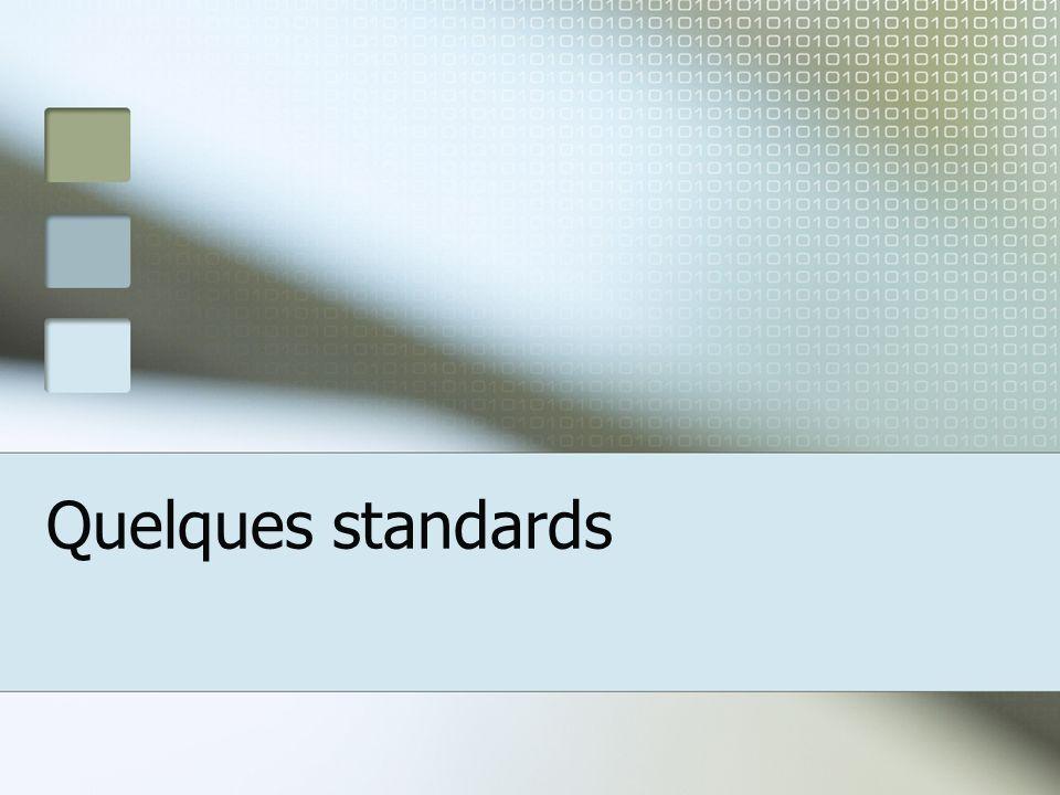 Quelques standards