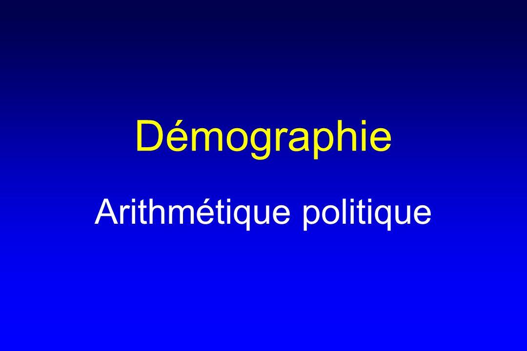 Arithmétique politique