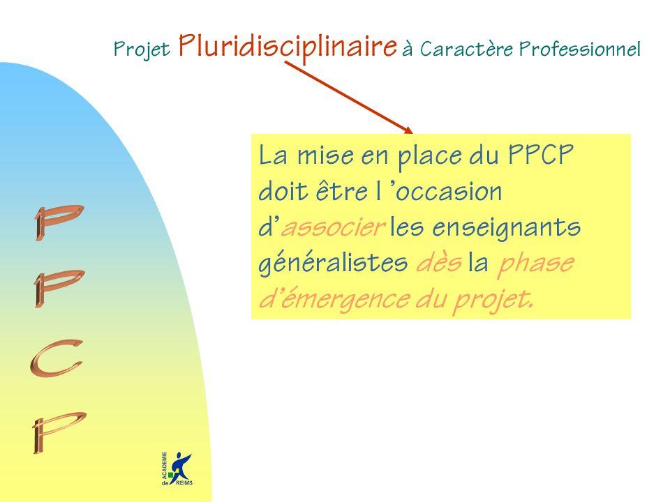 Projet Pluridisciplinaire à Caractère Professionnel