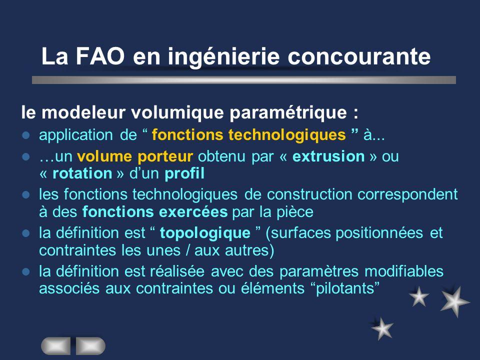La FAO en ingénierie concourante