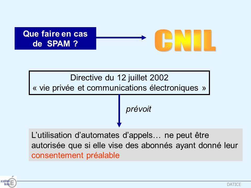 « vie privée et communications électroniques »
