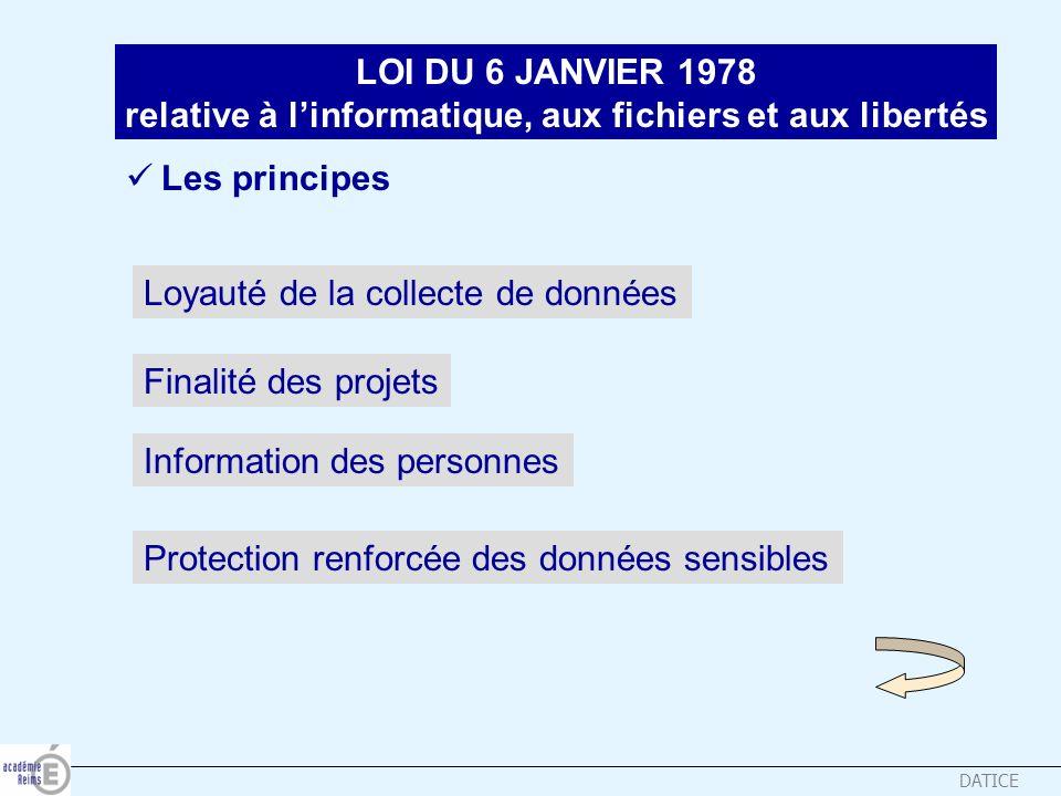 relative à l'informatique, aux fichiers et aux libertés