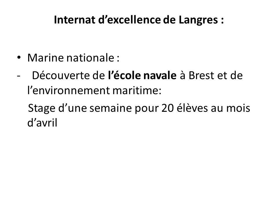 Internat d'excellence de Langres :