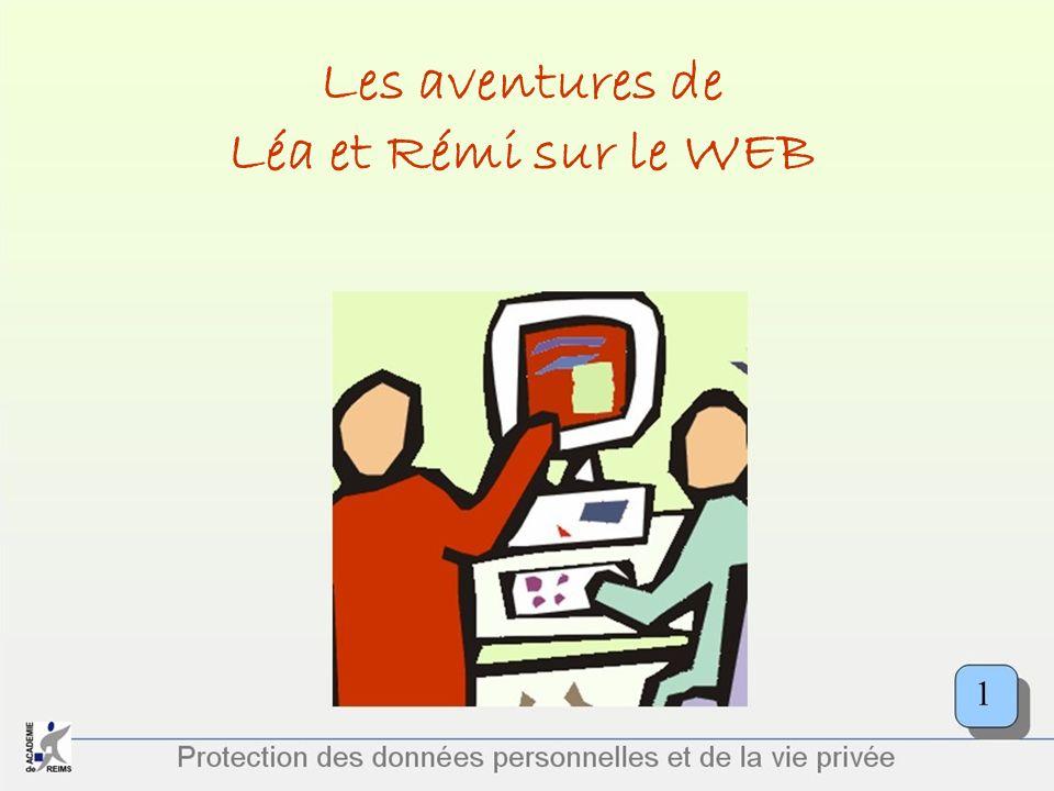 Les aventures de Léa et Rémi sur le WEB