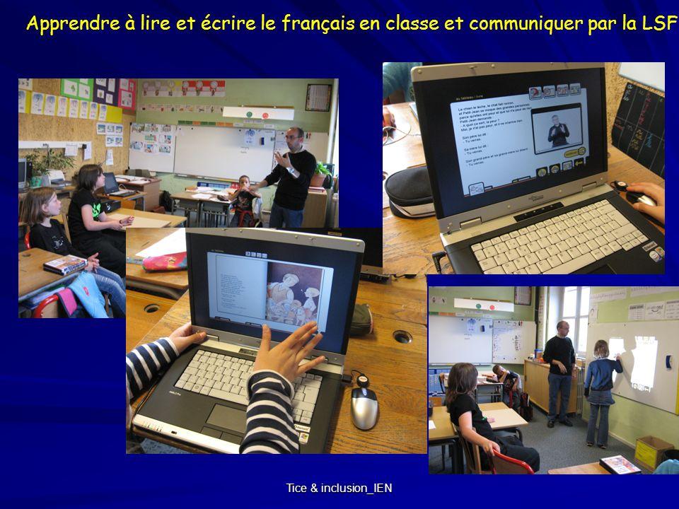 Apprendre à lire et écrire le français en classe et communiquer par la LSF