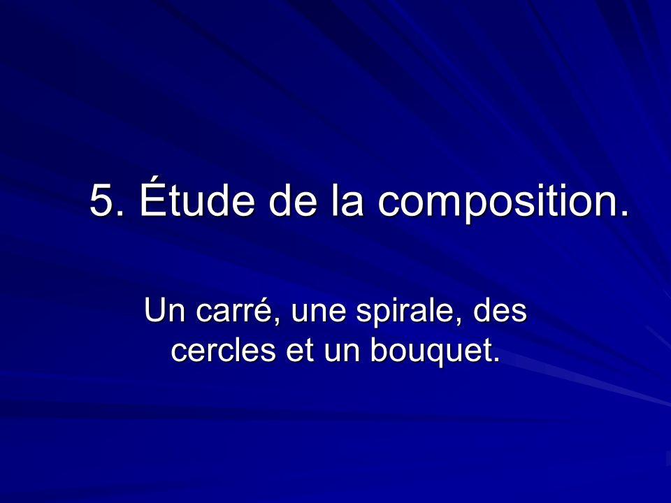 5. Étude de la composition.