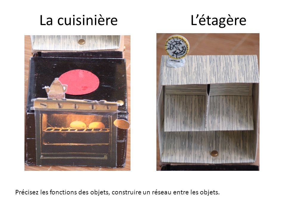 La cuisinière L'étagère