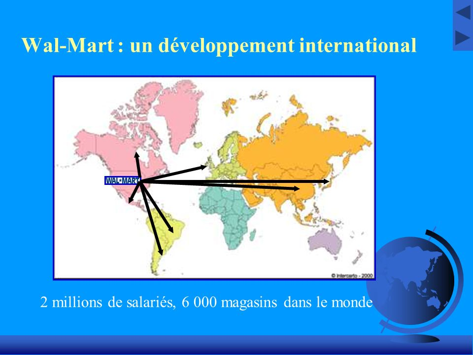 Wal-Mart : un développement international