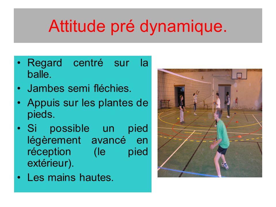 Attitude pré dynamique.