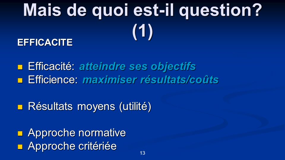 Mais de quoi est-il question (1)