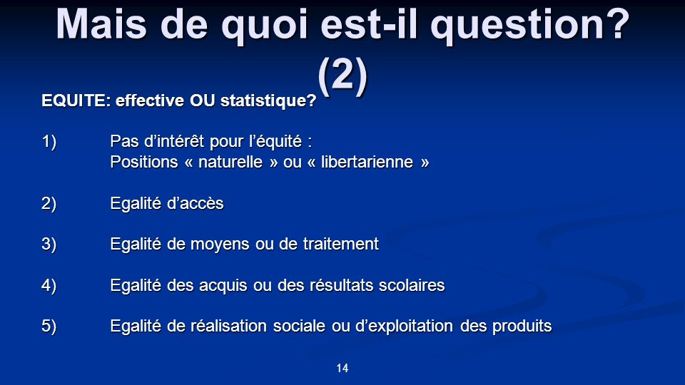 Mais de quoi est-il question (2)
