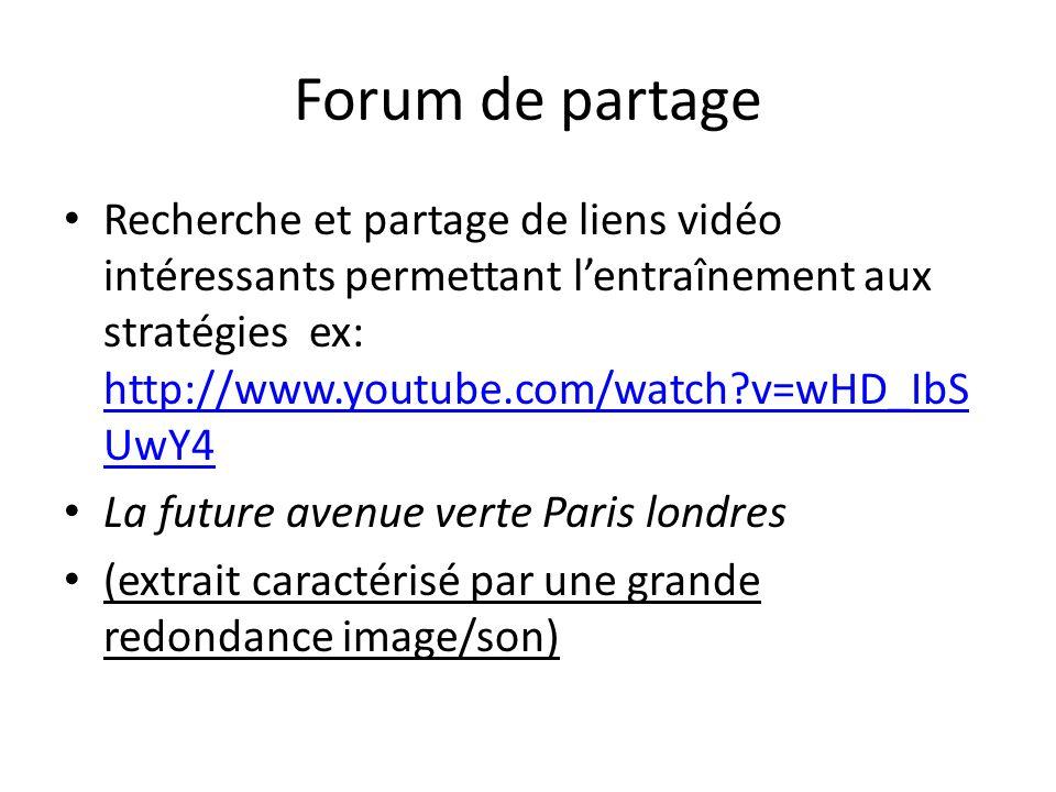 Forum de partage