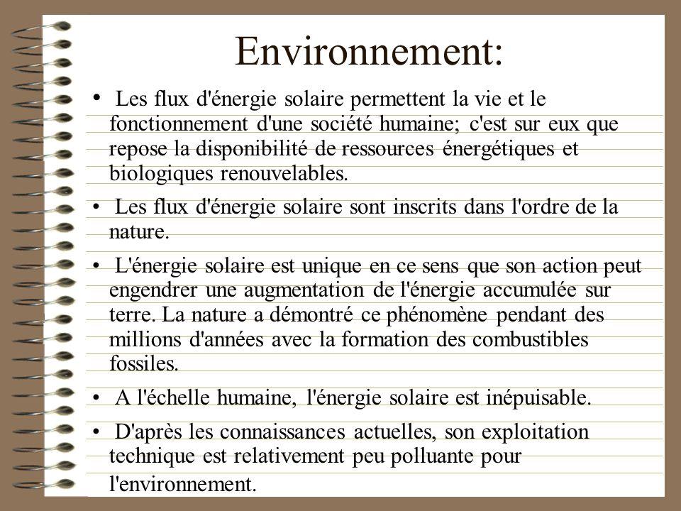 Environnement: