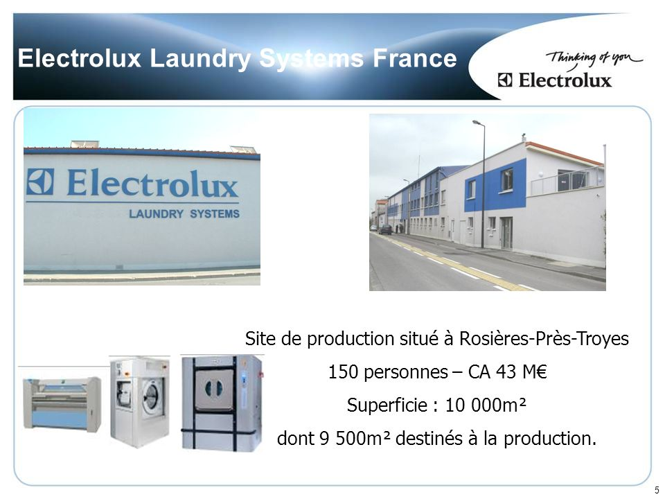 Electrolux Laundry Systems France