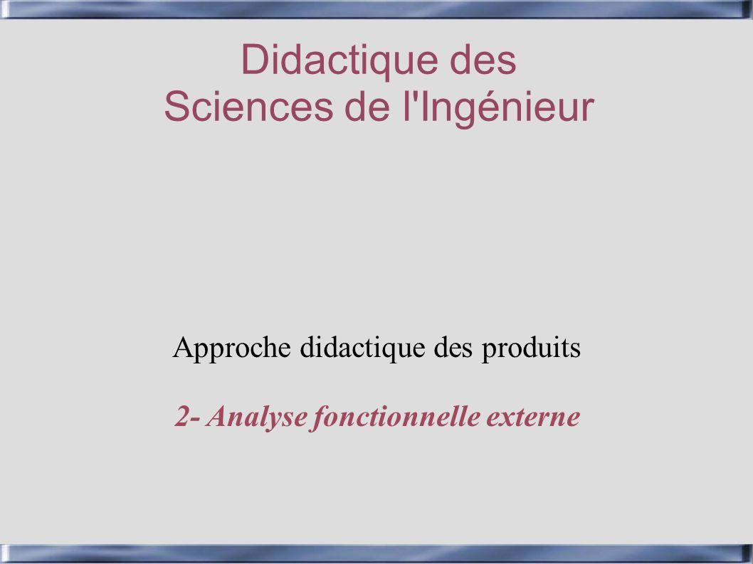 Didactique des Sciences de l Ingénieur