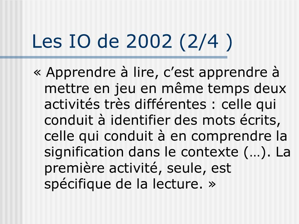 Les IO de 2002 (2/4 )