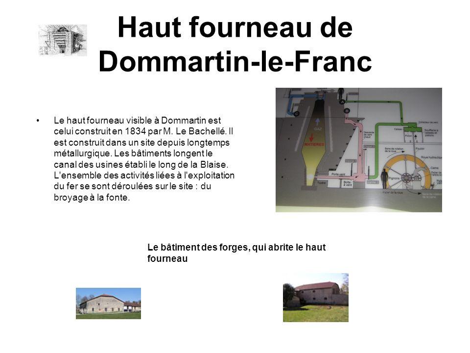 Haut fourneau de Dommartin-le-Franc