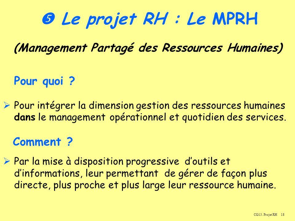 (Management Partagé des Ressources Humaines)