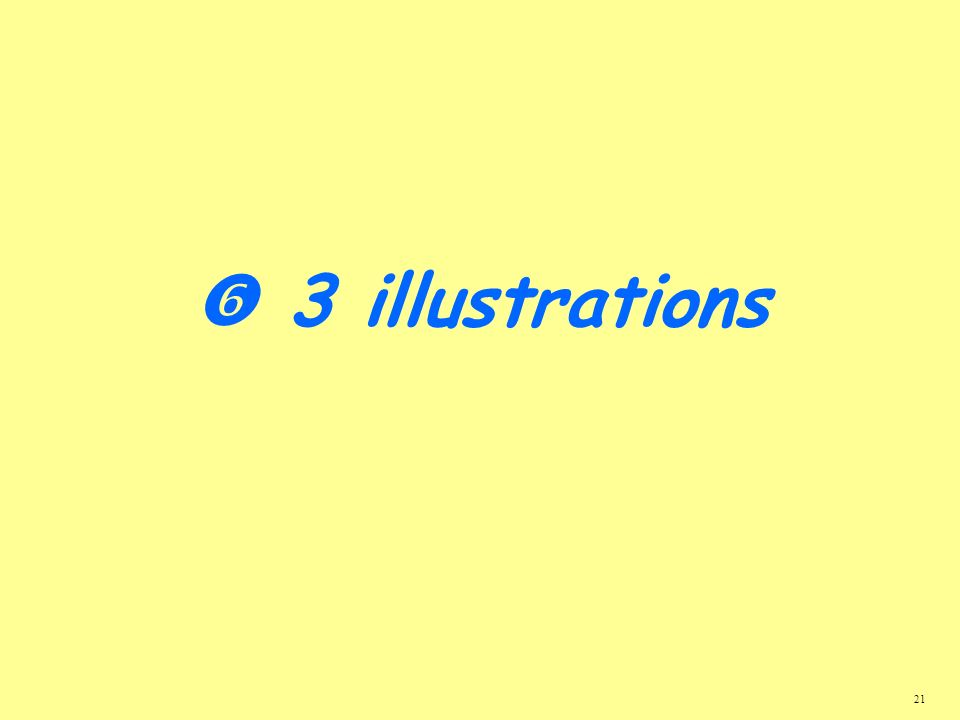  3 illustrations