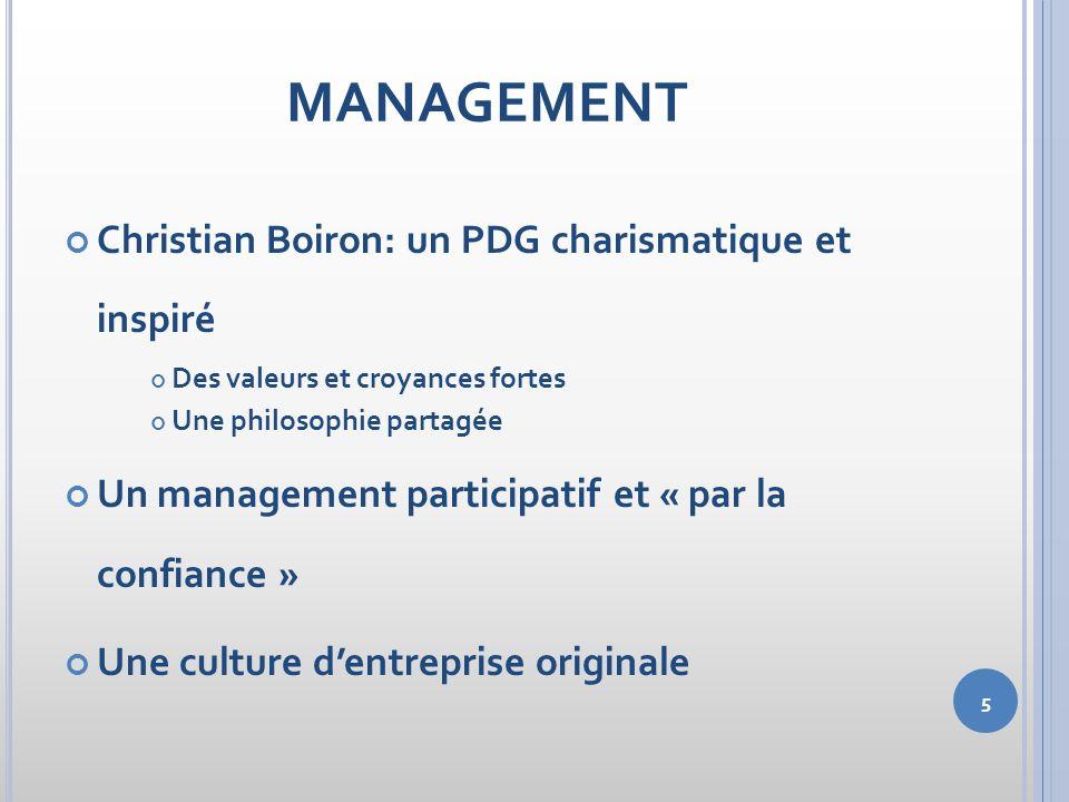 MANAGEMENT Christian Boiron: un PDG charismatique et inspiré