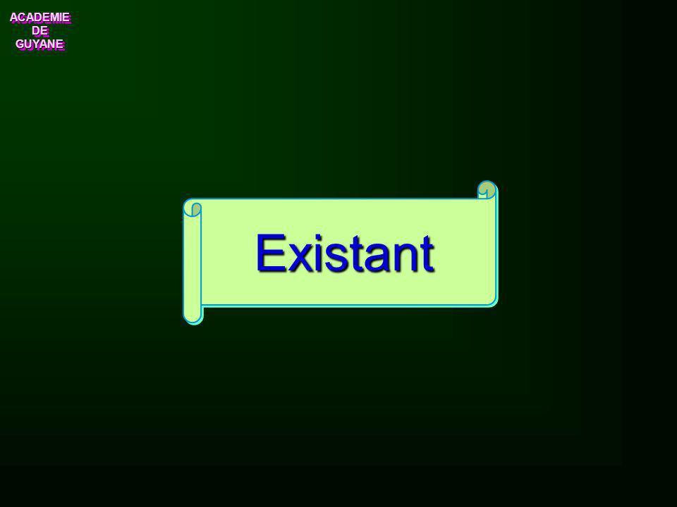 Existant