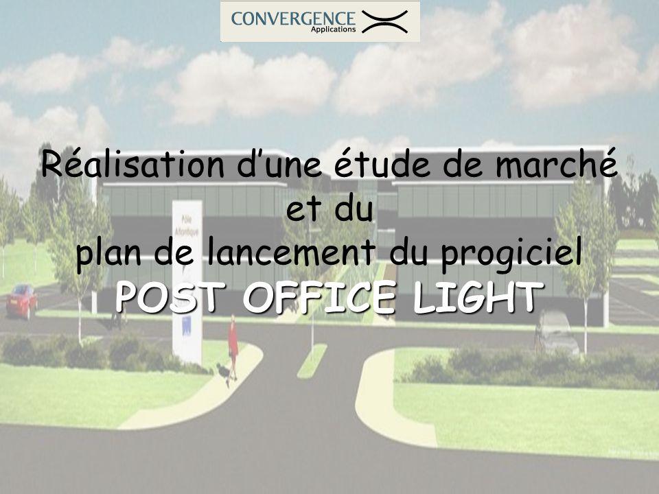 POST OFFICE LIGHT Réalisation d'une étude de marché et du
