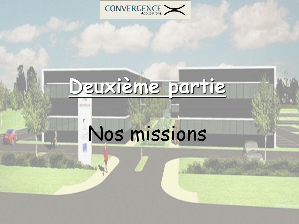 Deuxième partie Nos missions