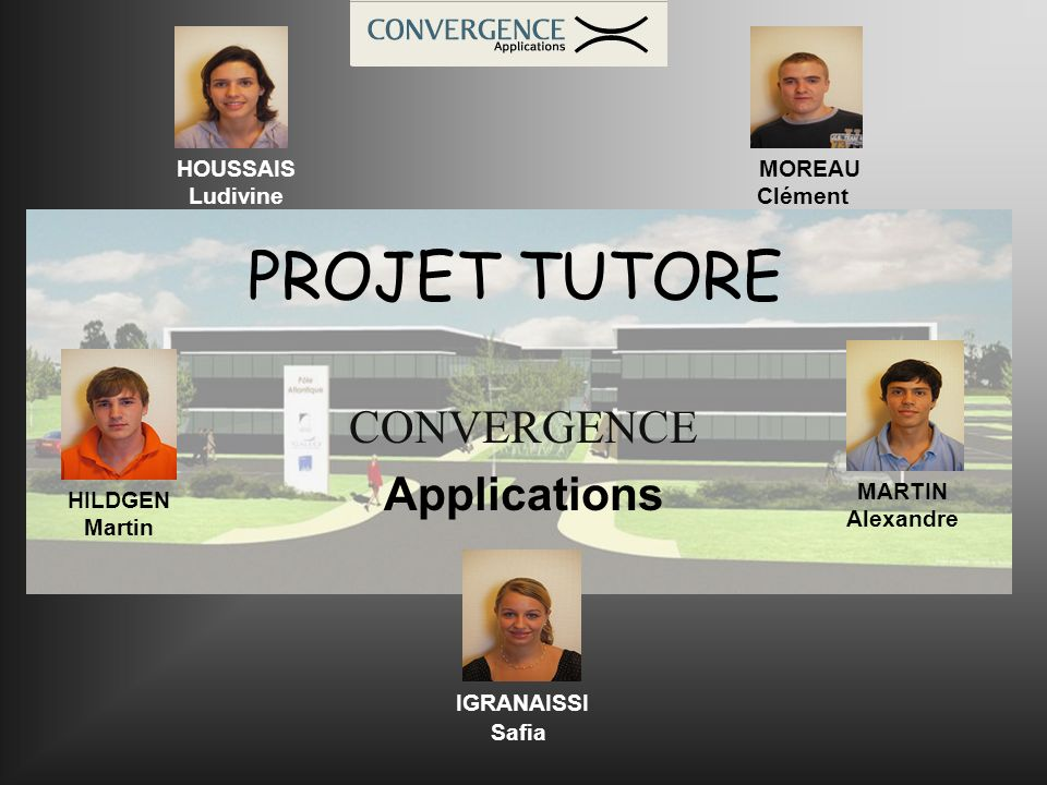 CONVERGENCE Applications