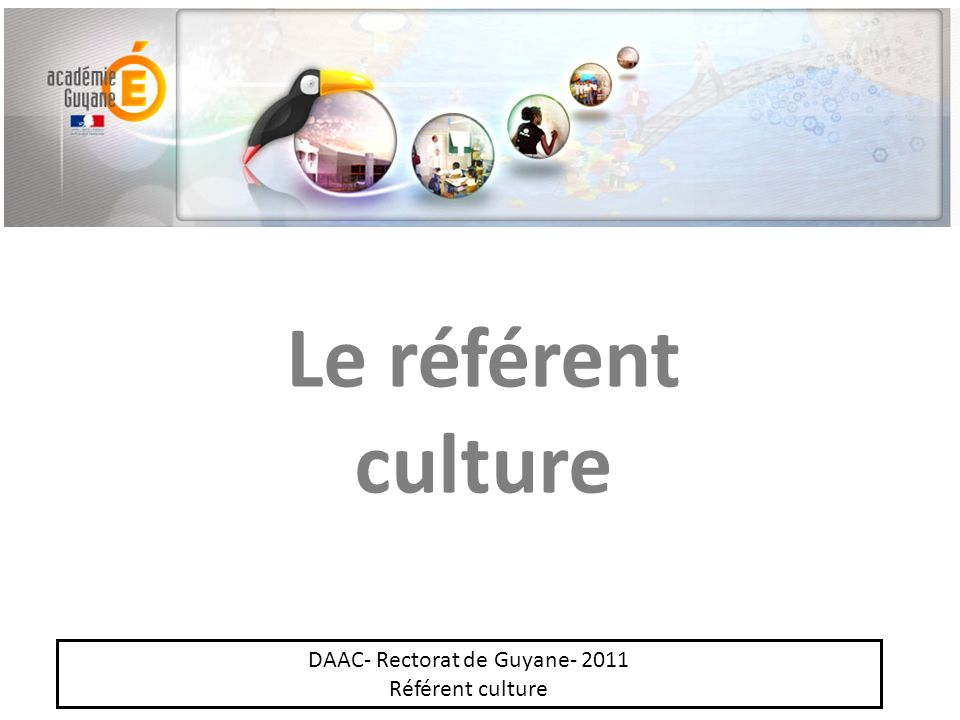 DAAC- Rectorat de Guyane- 2011