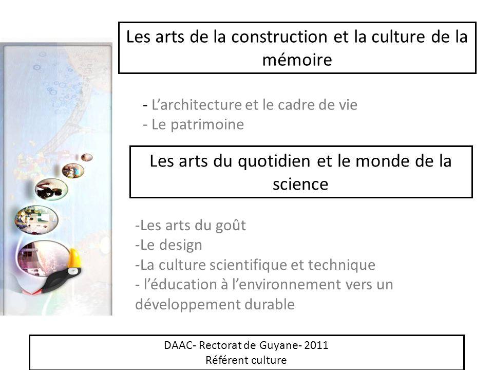 Les arts de la construction et la culture de la mémoire