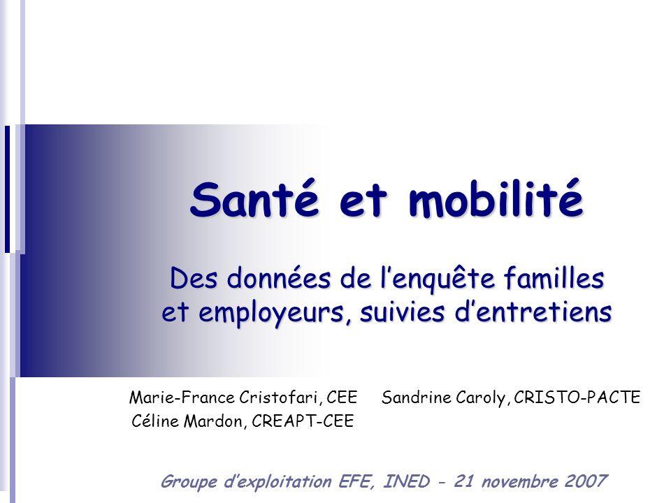Marie-France Cristofari, CEE Céline Mardon, CREAPT-CEE