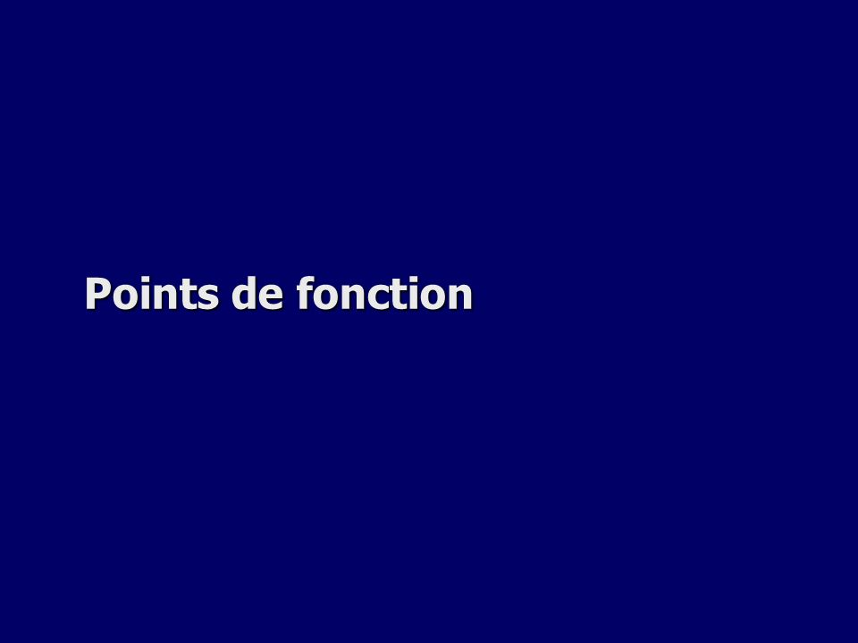 Points de fonction