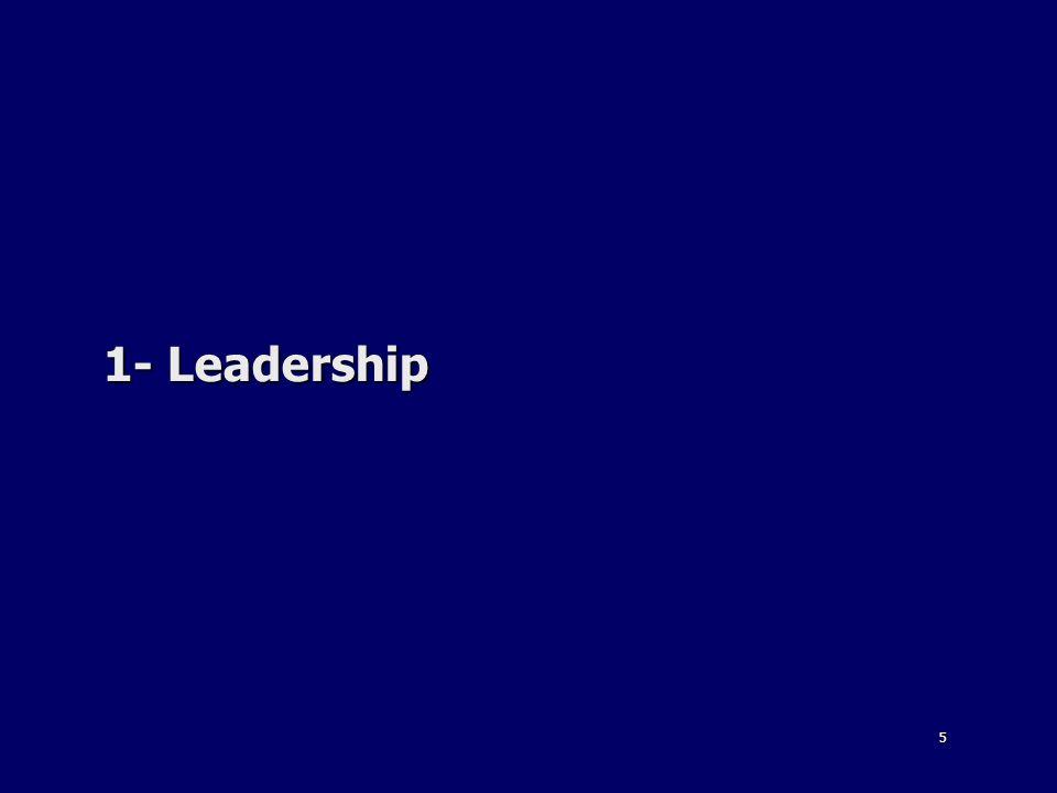 1- Leadership