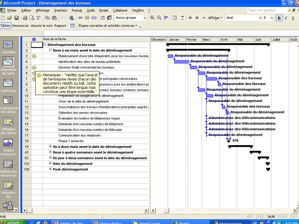 Exemple de processus