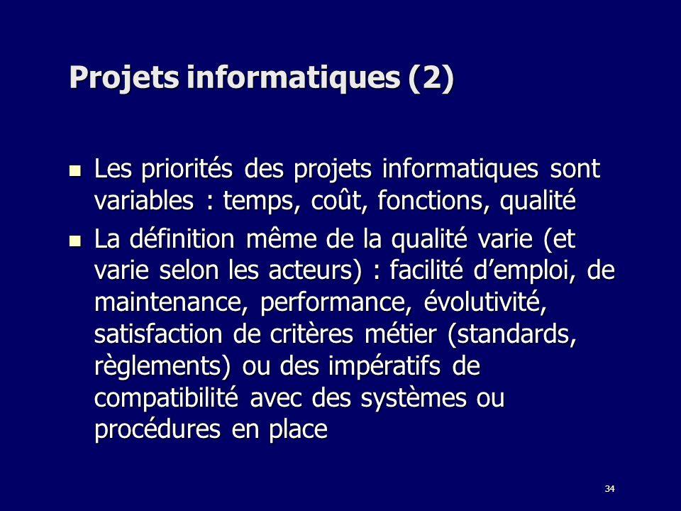 Projets informatiques (2)