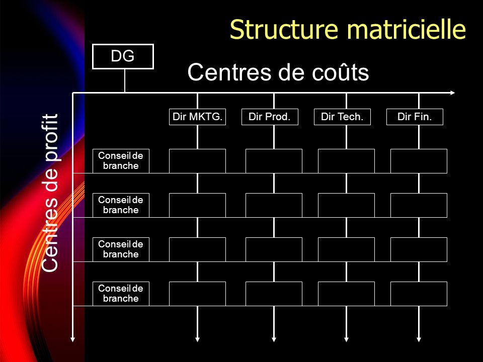 Structure matricielle