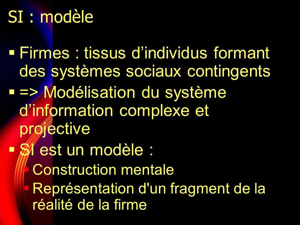 Firmes : tissus d'individus formant des systèmes sociaux contingents